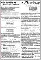 Блок питания и сигнализации RGY 000 MBP4 (проспект на английском языке)Блок питания и сигнализации RGY 000 MBP4 (проспект на английском)