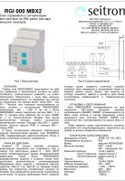 Блок питания и сигнализации RGI 000 MBX2 (проспект на русском)