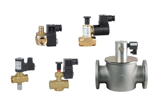 Отсечные газовые клапаны MADAS